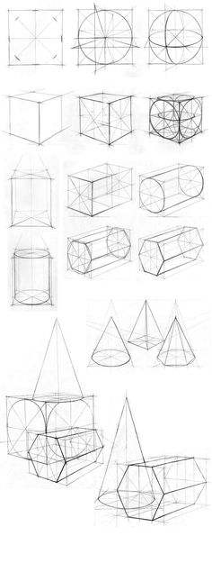Ideas For Drawing Art Designs Perspective Basic Drawing, Drawing Skills, Technical Drawing, Drawing Lessons, Drawing Techniques, Drawing Tips, Drawing Ideas, 3d Drawings, Drawing Sketches