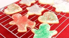 Made 2014  Cutout Sugar Cookies Recipe - Laura in the Kitchen
