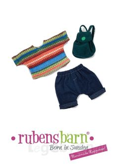 Rubens Cutie tøj - Back to school - 3 dele.