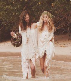 beach, boho, bohemian, hippie, fashion, style, white