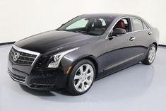 2013 Cadillac ATS Luxury Sedan 4-Door 2013 CADILLAC ATS 2.0T LUXURY RED LEATHER SUNROOF 51K #135545 Texas Direct Auto