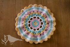 Love The Blue Bird: Crochet Mandala...