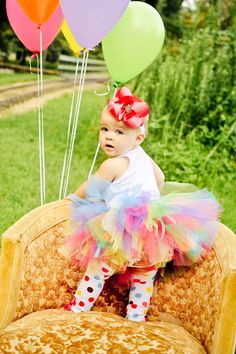 My baby girl's one year pictures!  LOVE!