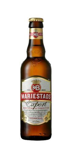 Swedish beer! Mariestads