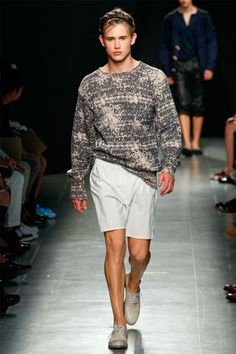 Bottega Veneta - Spring/Summer 2015 - Milan Fashion Week #bottegaveneta #summer2015 #essentialhomme #milanfashionweek #runway #trends