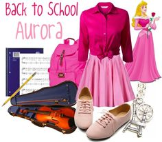 """Back to School: Aurora"" by jami1990 ❤ liked on Polyvore"