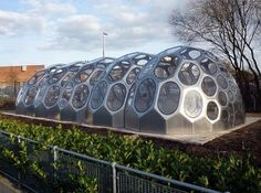 Spaceplates Greenhouse functions as a classroom and growing space