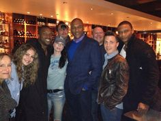 Rachel Nichols meets up with Continuum co-star Roger Cross and his other TV family, CW's Arrow.