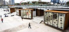 Shanghai West Bund Biennial Pavilions / SHL Architects
