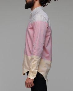 tri color shirt