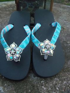 Irridescent Bling Flip Flops Bling Flip Flops, Flip Flop Sandals, Girly Things, Girly Stuff, My Boutique, Shoe Boots, Shoes, Flipping, High Heels