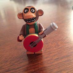 #gandalftheyellowhead #Fnac #fnac2 #fnaf #fnaf2 #fnaf3 #fnaf4 #fnafworld #lego #legos #custom #toy #minifigure #minifig #made #handmade #fivenightsatfreddys #game  FNAC Chester by bagpuss4eva