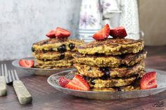 by Adelina Bonca ( Blueberry, Pancakes, French Toast, Oatmeal, Banana, Sugar, Cooking, Breakfast, Healthy