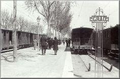 Caminos de Ferro: Estación Original del Central de Aragón en Valencia