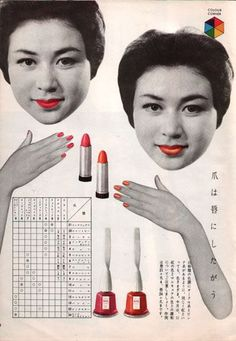 Fascinating find of Chinese lip fashion through the dynasties.