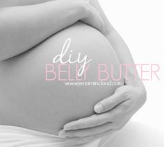 Today is for all you pregnant mommas out there, plus those of you dealing with stretch marks now that baby is here! I've got a recipe for a belly butter that will not only prevent stretch ma…