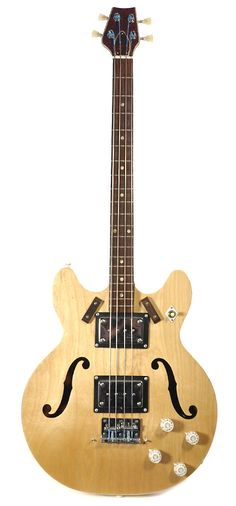 HARMONY H27 Bass Natural 1960s   Chicago Music Exchange)