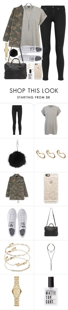"""Outfit for autumn"" by ferned ❤ liked on Polyvore featuring Paige Denim, River Island, Topshop, ASOS, Yves Saint Laurent, Casetify, adidas, Liebeskind, Forever New and Burberry"