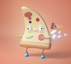 PIZZA FARTS: Character Concepts on Behance