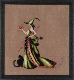 Halloween - Cross Stitch Patterns & Kits - 123Stitch.comAna (Bewitching Pixies) - Cross Stitch Pattern by Nora Corbett