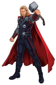 Thor   knowlesart