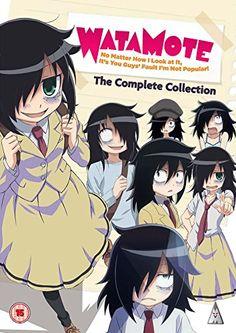 Watamote Collection [DVD]: Amazon.co.uk: Shin Onuma: DVD & Blu-ray