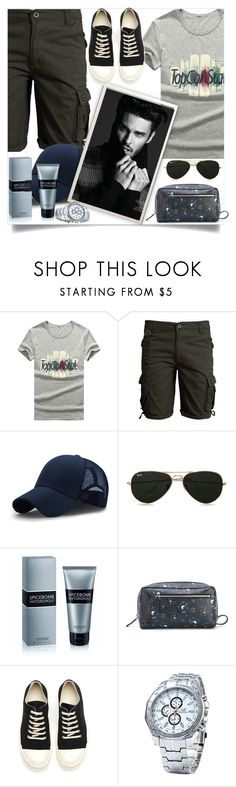 """""""Rosegal    14"""" by mell-2405 ❤ liked on Polyvore featuring Topman, Viktor & Rolf, Salvatore Ferragamo and DRKSHDW"""