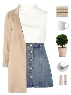 """Coffee dates"" by genesis129 ❤ liked on Polyvore featuring Keepsake the Label, Anita & Green, Boohoo, mel, Natalie B, Christy and vintage"