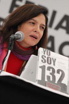 """Presentación del libro: """"Yo soy 132"""" de Gloria Muñoz Ramírez. Foto: Dardané Pérez Romero / Secretaría de Cultura del GDF."""