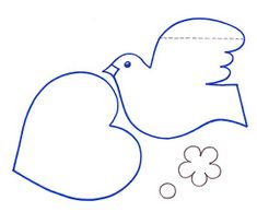 Peace Crafts, Sunday School Crafts For Kids, Fathers Day, Symbols, Letters, Cards, 25 Mayo, Ideas, Drawings
