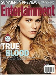 Entertainment Weekly, Anna Panquin, True Blood, #1 of 11, June 2012 ~NEW