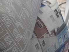 We're calling these 'Lx cityscape in beige' and 'Lx in blue'. Limited edition cotton throw pillows for S/S 2015. Made in Portugal / Almofadas decorativas edição limitada em algodão para P/V 2015. 'Contorno de Lx em bege' e 'Lx azul'. Feito em Portugal
