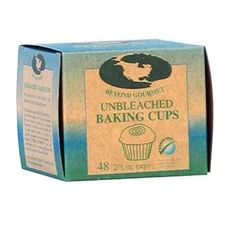 Beyond Gourmet 048 Unbleached Large Baking Cup, Box of 48, Green