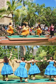Canoe Pageant at The Polynesian Cultural Center. #polynesian #theme #park #oahu #hawaii #travel #family