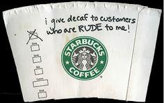 Confessions of a barista!