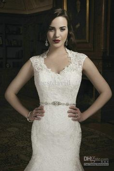 White and Gold Wedding. Sweetheart Neckline, Lace Trumpet Wedding Dress. New Lace Two-Piece Mermaid Wedding Dress 2013 Tulle Sweetheart Cap Sleeves Beaded Chapel Train 8689