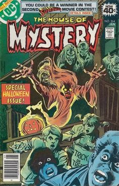 House of Mystery-special Halloween issue