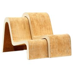 """Easy Edges"" Chairs by Frank Gehry"