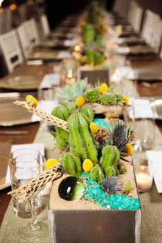 mexican table theme