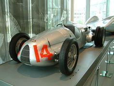 Auto Union racing car - 1938 Type C/D V16