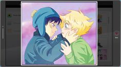 All the super cute Craig and Tweek yaoi in South Park: The Fractured but Whole