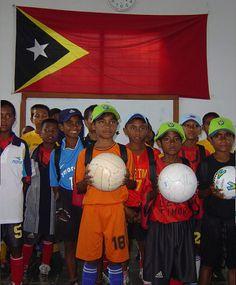 The most popular sport in East Timor is soccer, but some other sports like cycling, martial arts, weightlifting and badminton are also popular.