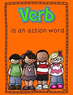 Free! Noun & Verb Poster!