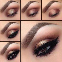 3 tutoriales de maquillajes de ojos para fiestas