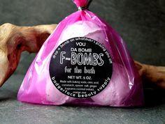 You're the Bomb Bath Bomb. Coconut Bath Bomb. by badgerfacebeauty
