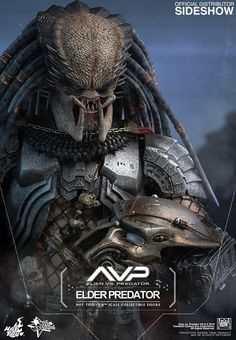 Collectors Row Inc. ABOUT THIS SIXTH SCALE FIGURE In Alien vs. Predator, the crossover movie about the battles between the dangerous aliens and predators, the human protagonist Alien Vs Predator, Predator Helmet, Predator Movie, Predator Alien, Alien Queen, Starwars, Aliens And Ufos, Alien Art, Xenomorph