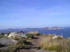 Cíes Islands from Morrazo.