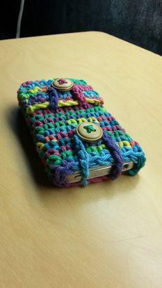 #Crochet Phone Case Ipod Ipad Crochet Tablet cover TUTORIAL crochet proj...