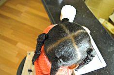 Vayda's Natural Hair Regimen — Mommy's Dressing Room