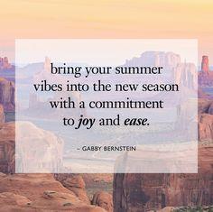gabby-bernstein - landing page Monday Inspiration, Summer Vibes, Philosophy, Lyrics, Bring It On, Joy, Sayings, Words, Quotes